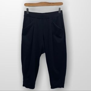 IVIVVA by Lululemon Black Crop Joggers Size 14